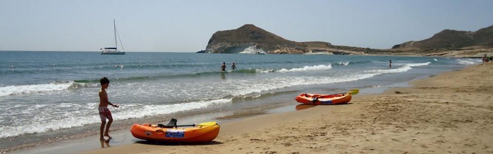 Playa de Los Genoveses Cabo de Gata